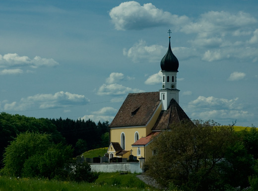 Kapelle in Oberbayern